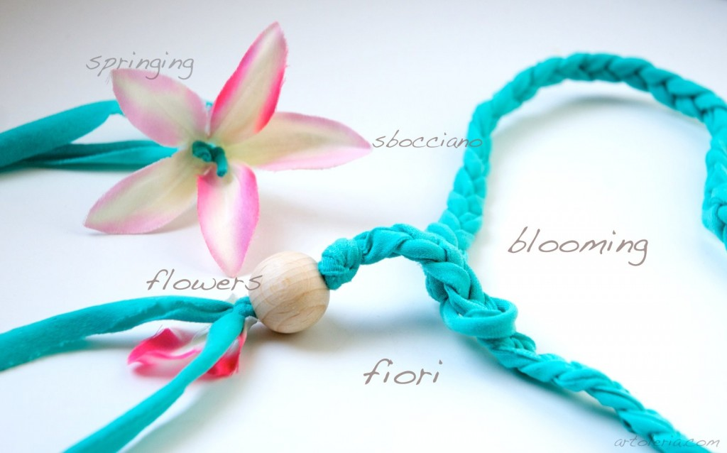 Flowers blooming - headbands by Artoleria