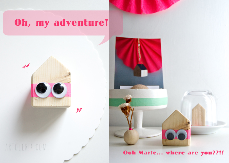 Travelling house for oh Marie!