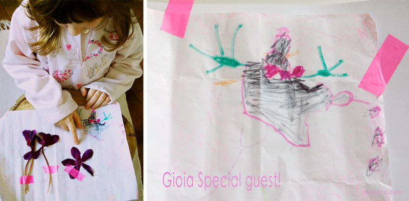 Gioia little child painting